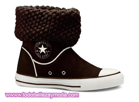 zapatillas estilo converse mujer